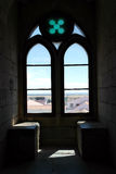 Window of a Castle, Beja, Portugal Royalty Free Stock Images