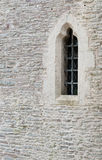 Window in Castle Wall Royalty Free Stock Images