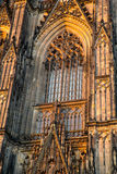 Window of the Cathedral of Cologne Royalty Free Stock Photography