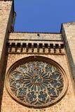 Window of the Catholic Church Royalty Free Stock Images