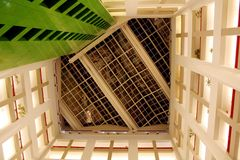 Window ceiling. Of a modern building (CBC building in Toronto, Canada royalty free stock photos