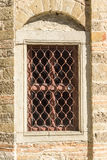 The window in the cell Troyan Monastery in Bulgaria Royalty Free Stock Photography