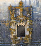 The Window of the Chapter House. Photo of the Window of the Chapter House in the Convent of Christ - August 2010 - Tomar – Portugal royalty free stock image