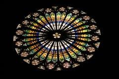 Window in the church Stock Photos