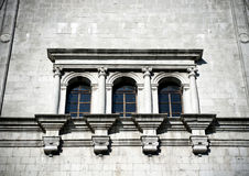 Window of church, Cividale del friuli Royalty Free Stock Photography