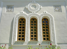 Window of the church in Livadia Royalty Free Stock Photos
