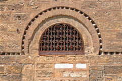 Window of the Church of Panaghia Kapnikarea Royalty Free Stock Images