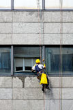 Window cleaner Stock Images