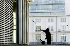Window-cleaner Stock Images