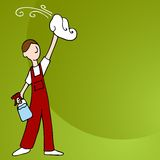 Window Cleaner Royalty Free Stock Image