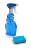 Window cleaner and sponge Stock Images