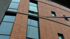 Window cleaner and telescopic pole