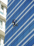 Window cleaner Stock Photo
