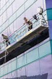 Window Cleaners Royalty Free Stock Photos