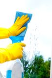 Window Cleaning Stock Images