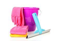 Window cleaning equipment Stock Photography