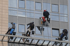 Window cleaning service Royalty Free Stock Images