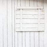 Window with closed blind Royalty Free Stock Images
