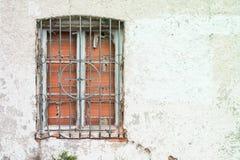 Window closed with bricks Stock Photos