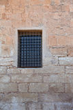 The window closed by a lattice Royalty Free Stock Photo