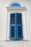 Window with closed Shutters Stock Photos