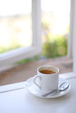 Window coffee Royalty Free Stock Photos