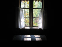 Window and coffer Royalty Free Stock Image
