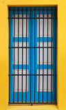 Window on a colonial building in Havana Stock Image