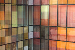 Window color reflection background Royalty Free Stock Image