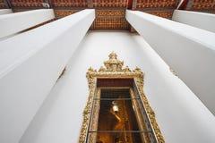 Window and Column of the Temple at Wat Pho, Bangkok, Thailand Royalty Free Stock Image
