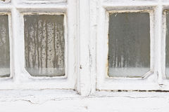 Window condensation Royalty Free Stock Photography