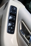 Window control. Car Window control Stock Images