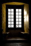 Window in the Convent Stock Image