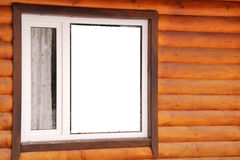 Window of the cottage Royalty Free Stock Images