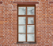 Window covered with frostwork Stock Photography