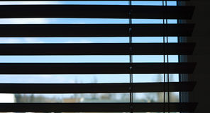 Window covering blinds Royalty Free Stock Image