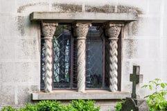 Window and cross Royalty Free Stock Photo
