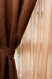 Window Curtain Stock Photography