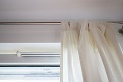 Window curtains Royalty Free Stock Photography