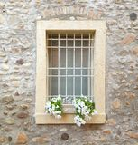 Window. A cute window in a hidden Street royalty free stock photography