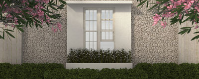 Window 3D Royalty Free Stock Photography