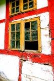 Window decay Stock Photos