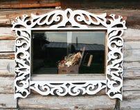 Window decoration Royalty Free Stock Image
