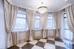 Window decoration curtains Royalty Free Stock Photos