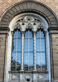 Window design of Odessa Philharmonic, Ukraine. Baroque style Royalty Free Stock Photography