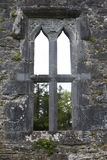 Window detail, Aughnanure Castle, near Oughterard Royalty Free Stock Images