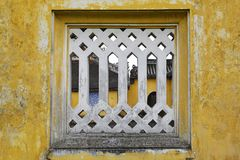 Building Detail in Dien Tho Residence royalty free stock photos