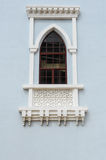 Window detail at India Muslim Mosque in Klang Royalty Free Stock Photo