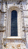 Window details of jeronimos Royalty Free Stock Photos