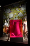 Window display at Bergdorf Goodman in NYC. Royalty Free Stock Photography